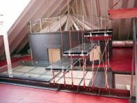 Suspended Treads and Operable Ceiling