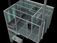 3D Model of Upper and Lower Bathrooms