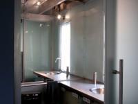 Lower Glass Bathroom