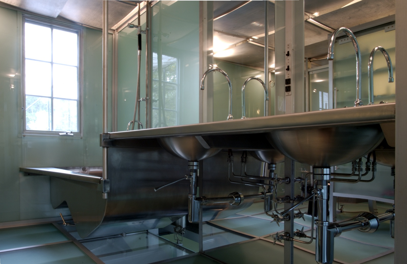 Glass Bathrooms Dripps Phinney Studio